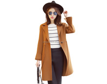 High quality 100% wool women coat cashmere coat