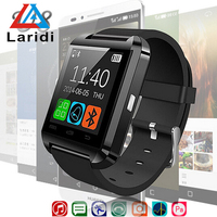Factory price touch screen android bluetooth U8 smart watch cheap paypal