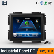 Embedded 12.1inch industrial touch screen panel pc with capacitive touchscreen