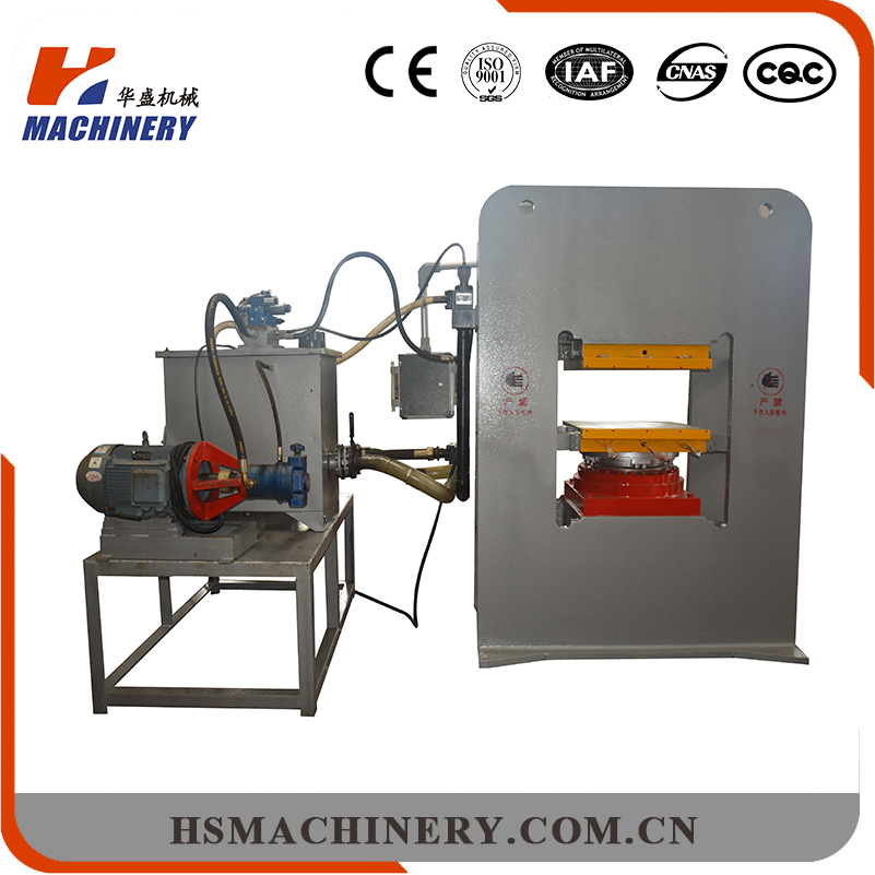 Huasheng available test press machine for small format particleboard