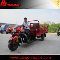 Strong chassis with heavy loading capacity tricycle for cargo selling