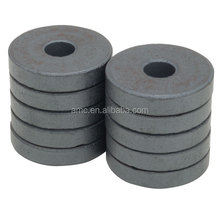 Y30/C5 Customized Permanent Ceramic Ferrite Ring Magnets For electric Motors / Speakers