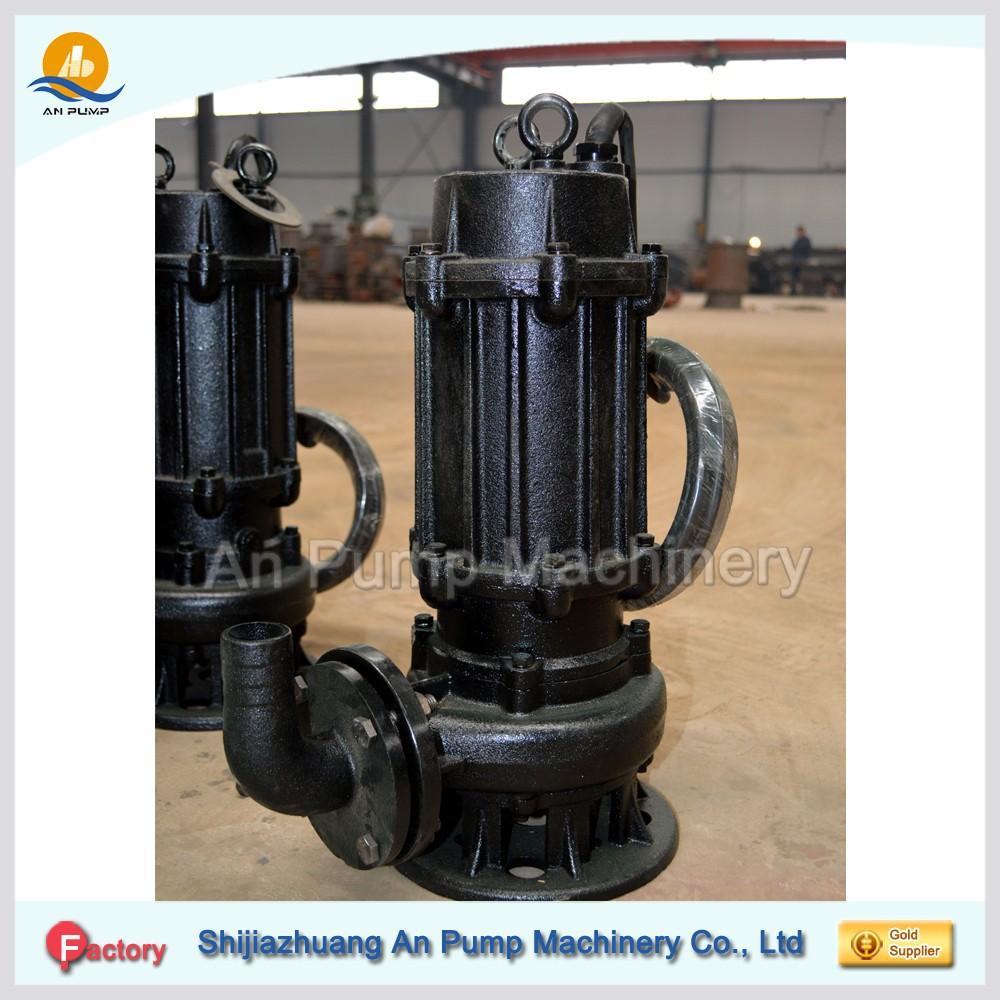 Stainless steel submersible sewage pump, dirty water pump submersible pump 1HP, 1.5HP, 2HP, 3HP