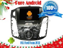pure android 4.4 car video system for Ford Focus HD Capacitive screen 1080P 8G ROM WIFI 3G