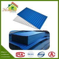 High quality with best price long term color stability plastic pvc roofing sheet for shed
