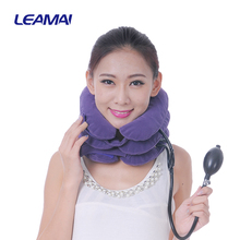 Best home cervical neck traction physical therapy brace device