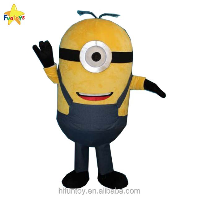 Fun Toys CE Movie Minion Mascot Costume for Adult