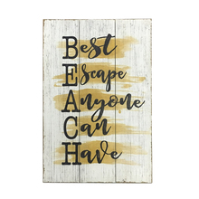 Decorative Saying Words Painting Novelty Wood Craft Sign