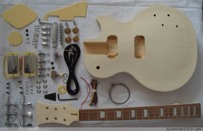 wholesales diy unfinished electric guitar build kits