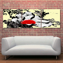 Large Size Restaurant Wall Art Modern Abstract Human Figure Oil Painting on Canvas