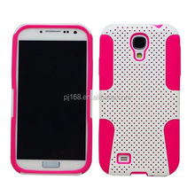new product toolbox hybrid combo mesh case for Samsung galaxy Tab 2 p5100