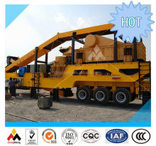 China Top quality mobile rock crusher and screen plant