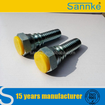 Female Connection Carbon Steel Hydraulic Fitting