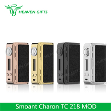 Intuitive Large OLED Display Smoant Charon 218W mods for e cigarettes