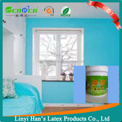 Top quality stain&dirt resistance white brush exterior water based exterior wall paint