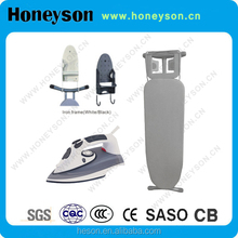Honeyson high quality hotel plastic steam iron with table