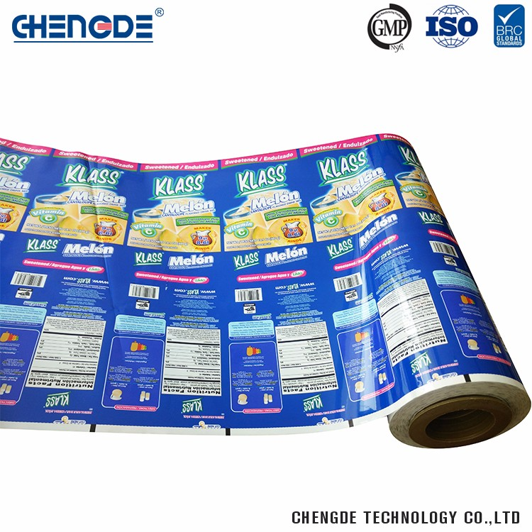 Laminated Material Wholesale Unique Milk Powder Packaging Food Safe Plastic Roll Film