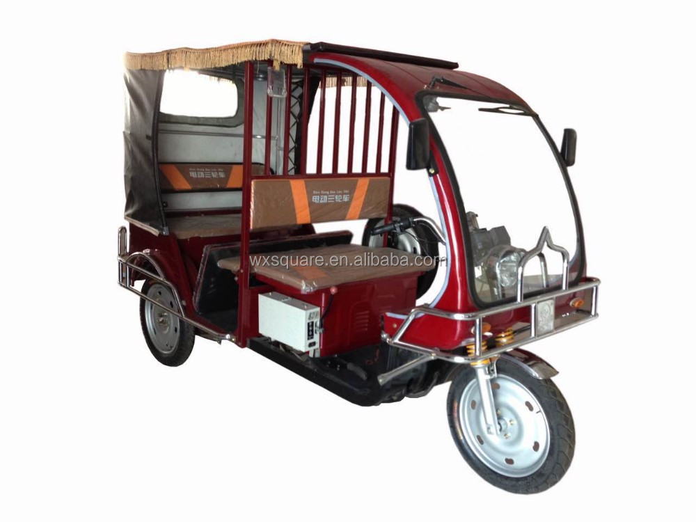 Good price good quality three wheeler taxi bajaj tricycle for Asian market