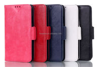 FL431 retro light oil wallet leather case for samsung galaxy s5