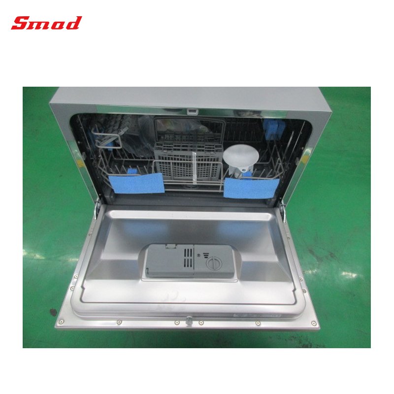 Mini Portable 6 Setting Portable Dishwasher Machine For Home