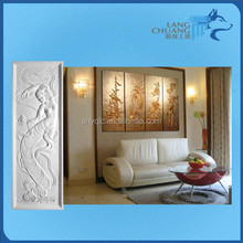 home decorating material fiber plaster noise isulation relife wall and ceiling