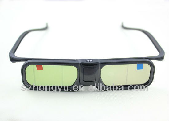 cheap universal active shutter 3d TV glasses factory price