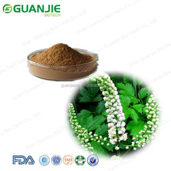 2016 high quality 100% nature black cohosh extract from China Supplier