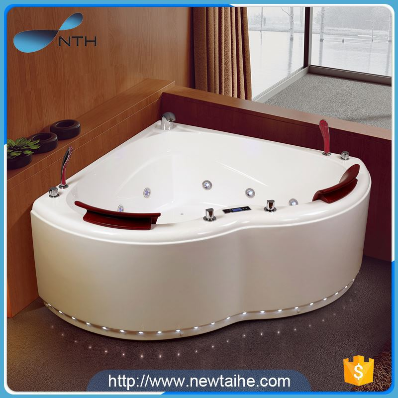 china manufacturer high quality CE massage jet hot tub spa with many ledlights