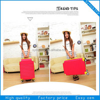 Hot Sale Abs Luggage,upright suitcase,abs+pc luggage