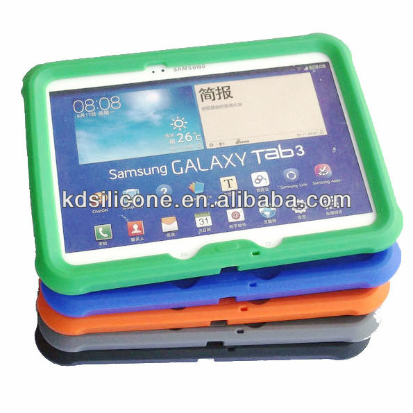 case for Samsung Galaxi Tab2 10.1, case for tablet 10.1, shockproof rugged silicone case for Samsung Galaxy Tab2 10.1