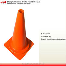 750mm reflective traffic cone and other type traffic cone