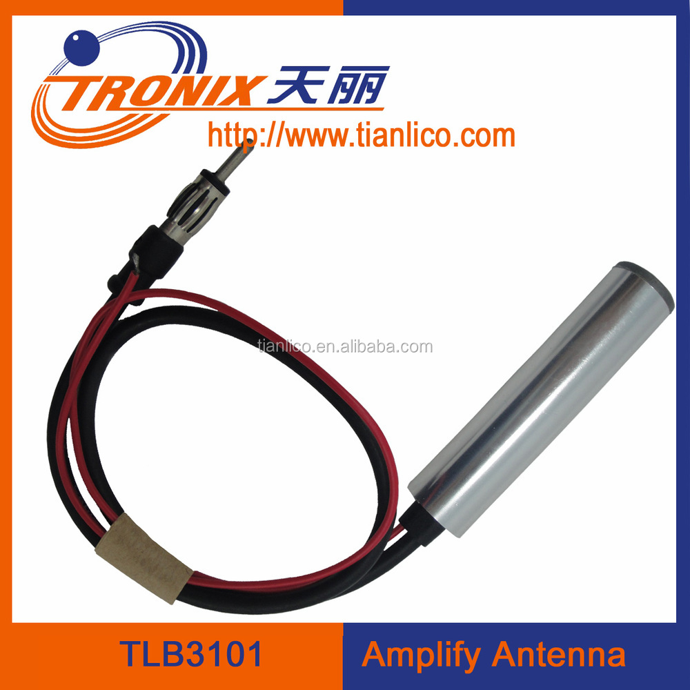 electric amplifier am fm radio car auto automobile vehicle antenna aerial
