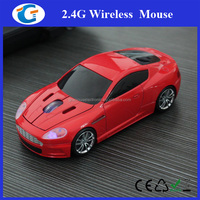 2016 Race Car Wireless Mouse with personalized logo