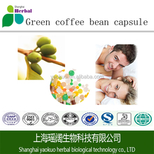100% pure Green coffee/green coffee bean extract powder/capsules