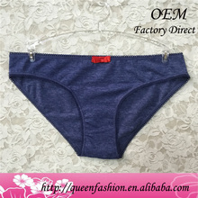 Pure cotton penty design very hot women underwear import munafie panty