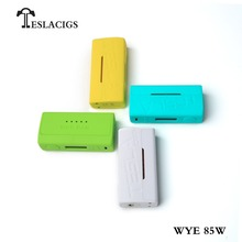 2018 factory New produce e cigarette Teslacigs WYE 85W e vape box mod from TESLACIGS Manufacture