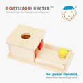 Montessori Infant toys Object Permanence Box