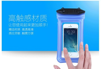 "4 .3""4.8""inch Smart Phone TPU Waterproof Bag With Sports Arm Band"