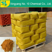 High quality pigment iron oxide yellow powder for asphalt pigment and concrete