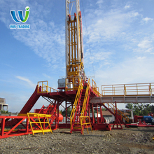 Truck-mounted Mechanical Mobile 2000m Water Well Bore Hole OIl Coal Bed Methane Drilling Rig