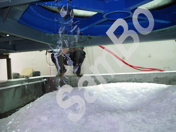 China supplier 3T snow flake ice machine for sale