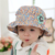 Children's baby sunhat Spring autumn fisherman hat princess basin cap