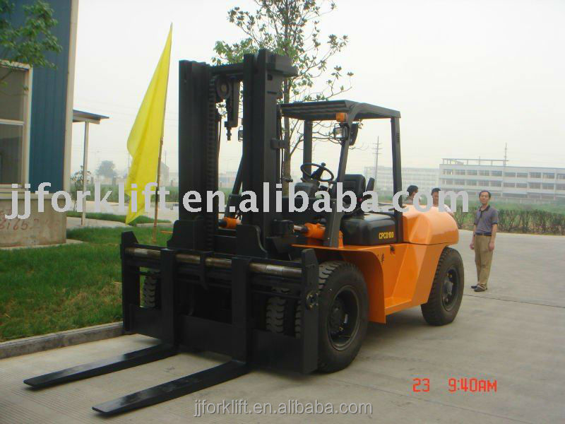 Diesel Forklift truck CPCD100 heavy forklift overseas containers for sale