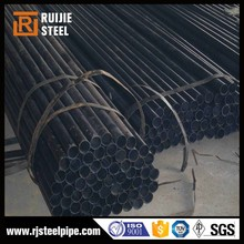 API 5L GRA/GRB Black painting ERW STEEL PIPE for Petroleum & Natural Gas industry