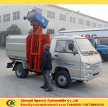 Foton forland mini garbage trucks for sale
