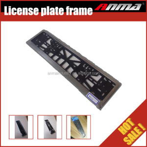 Wholesale custom car license plate frame metal / plastic license plate frames
