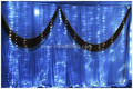 led curtain light white for wedding decoration/led backdrop stage design/led backdrop decoration