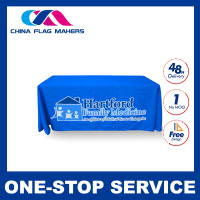 Custom washable white polyester oriental wholesale tablecloth