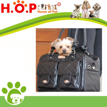 DOG CARRIER - Exclusive Airline Approved Leather Pet Carry Bag