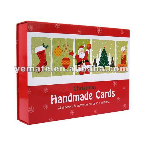 christmas place card holder,handmade christmas cards,christmas cards boxed set